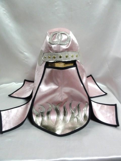 忍者 頭巾 DX  ピンクサテン  グレートムタ コスプレ ハロウィン にどうでしょ