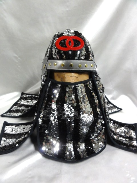 忍者 頭巾 SDX  スパンコール製 グレートムタ コスプレ ハロウィン にどうでしょ