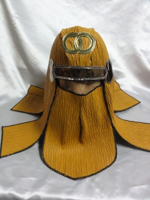 忍者 ハロウィン オレンジ 頭巾 グレートムタ コスプレ にどうでしょ