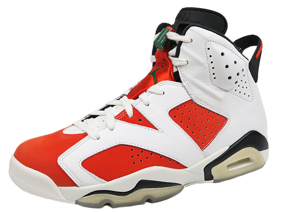 ナイキ エア ジョーダン6 ゲータレード NIKE AIR JORDAN6 RETRO SUMMIT WHITE/TEAM ORANGE-BLACK