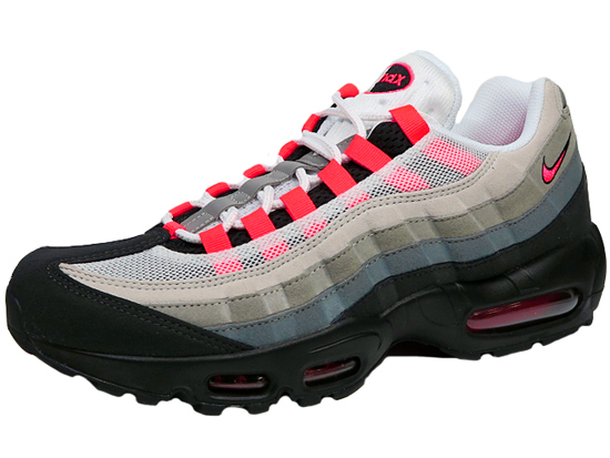 NIKE AIR MAX 95 Kie Ney AMAX 95 solar red WHITESOLAR RED NEUTRAL GREY size