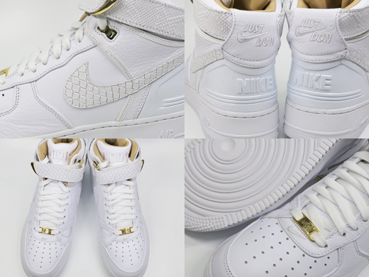 Force White High Whitewhite Sneakers Hi Nike Air 1 Don Men Just 43AjL5R