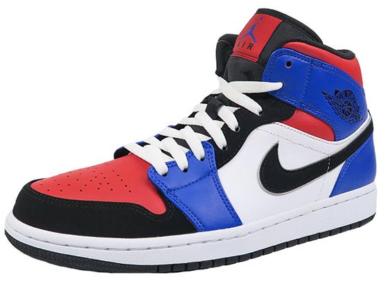 new product a071a 3c171 Nike Air Jordan 1 mid multicolored NIKE AIR JORDAN1 MID men basketball  shoes sneakers AJ1