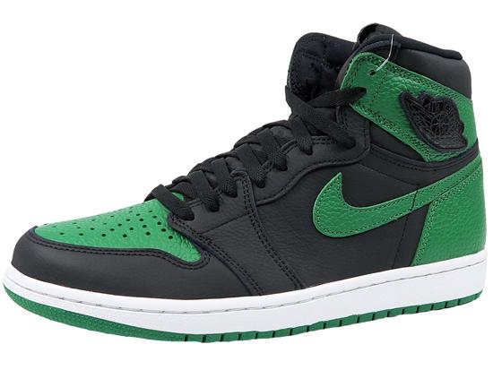 NIKE AIR JORDAN 1 RETRO HIGH OG PINE GREEN ナイキ エア ジョーダン 1 レトロ パイングリーン 黒緑