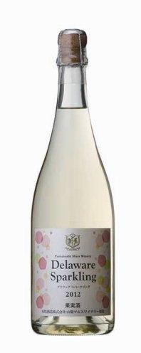 夏の陽射しをいっぱいに浴びて実るデラウェア葡萄の個性豊かな甘酸っぱい芳香と 爽やかな甘味に満ちた味わいを ボトルの中にたっぷりと詰め込んだスパークリングワインです スパークリングワイン やや甘口 デラウェア 2019 750ml 11% 白 ワイン 泡 発泡性 日本 プレゼント 飲みやすい お酒 誕生日 マルス山梨ワイナリー 出群 かわいい 退職 結婚 父の日 おしゃれ 還暦 ボトル ワイナリー直送 在庫一掃 祝い