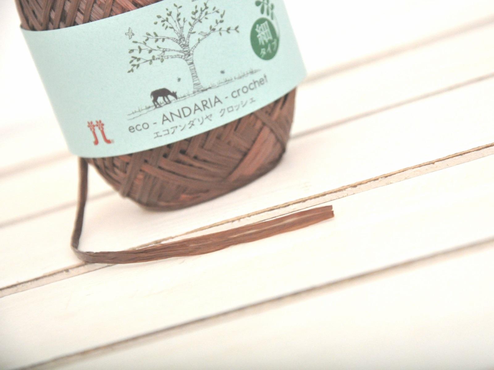 是最受欢迎的商品安塔利亚钩的 eco ANDARIA 钩针日本制造的夏天 ♪ 质地柔滑是夏季的完美 ! 小玩意和内政和时尚配件 / 帽子 / 夏季纱 / 春天夏天 / 苏美尔 /Yarn / 钩针 / 05P11Apr457。