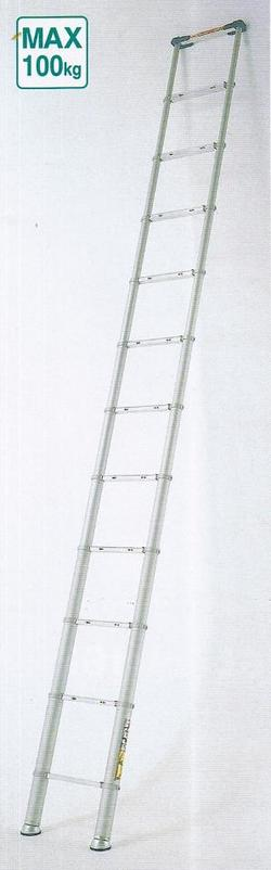 【送料無料】【代引手数料無料】ピカコーポレーション伸縮はしごスーパーラダーSL-400J(自在脚タイプ)最長4.16m