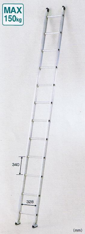 【一部送料無料】ピカコーポレーション1連はしごアルフ1ALF-51 全長5.11m
