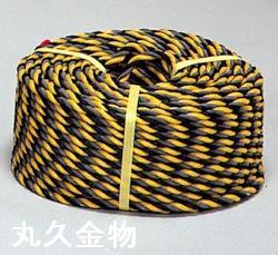 反射標識ロープ φ12mm×100m(光るトラロープ)反射ロープ