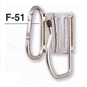 一台2役 ダブルタイプ 国内即発送 土牛 DOGYU カラビナ式フックF-5101585 正規逆輸入品