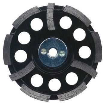 ツボ万NewSAポリッシャーS字(Lタイプ)寿命重視:NSA-100SL100mm×4.5mm×7mm×M10ボス【外径φ:チップ厚T:チップ幅W:取付穴径H】TSUBOMANダイヤモンド
