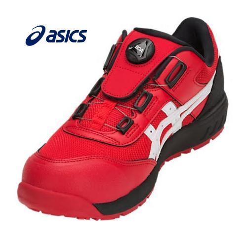ASICS アシックス ウィンジョブCP209 BOA安全靴クラシックレッド×ホワイト1271A029602ダイヤル式男女兼用 ユニセックス(CERUMO採用モデル)