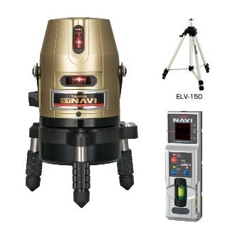 高輝度・高精度! 【送料無料】【追尾】タジマツールNAVI GT5Z-NISET【本体・三脚・受光器付】矩・横・両縦 ナビレーザー墨出器