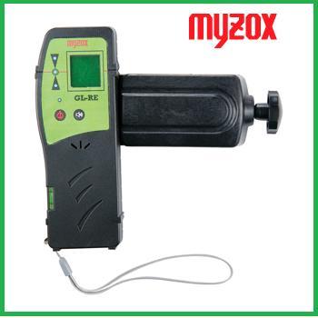マイゾックス(MYZOX)受光器 GL-RE+クランプGL-RCグリーンレーザーGシリーズ用【レーザー墨出器アクセサリ】