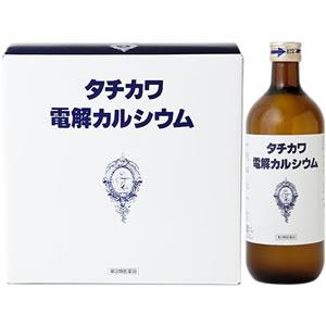 タチカワ電解カルシウム(600ml×3本入)×1個【第3類医薬品】