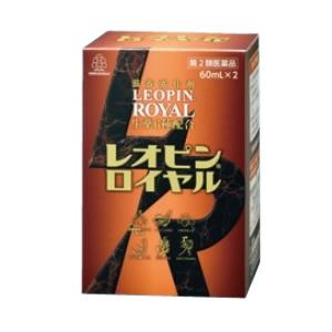 レオピンロイヤル(60mL×2本入)【第2類医薬品】湧永(ワクナガ)製薬