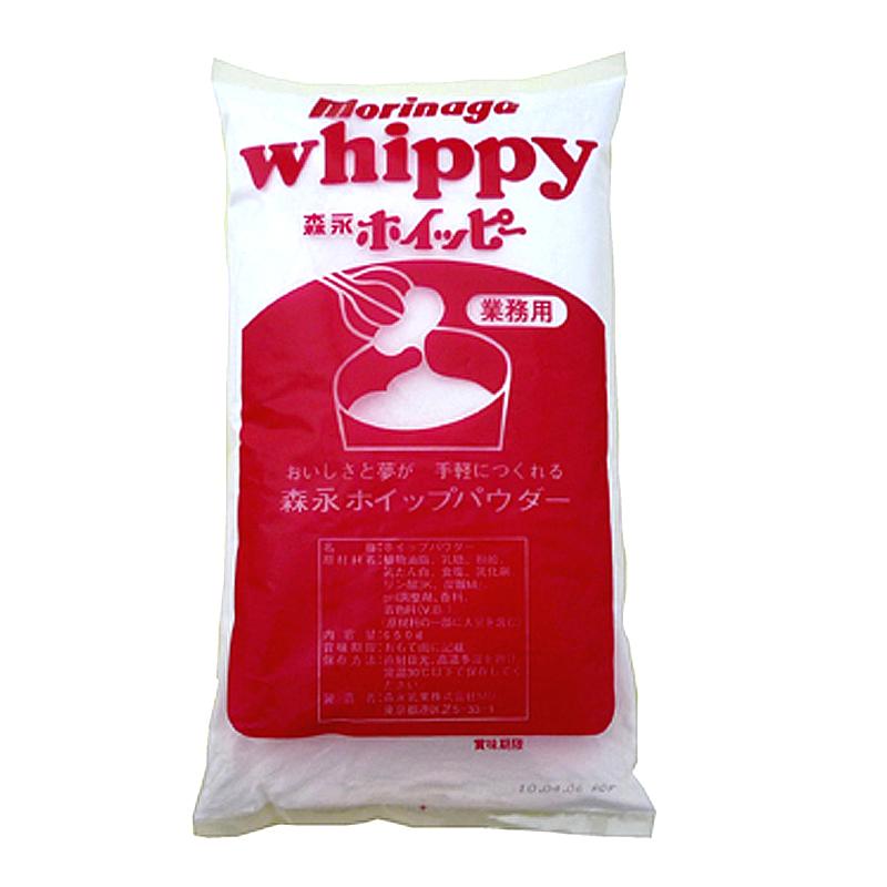 在庫あり 牛乳と混ぜるだけでホイップクリームが出来る お得なキャンペーンを実施中 ホイップクリームの素 粉末 森永ホイッピー 650g