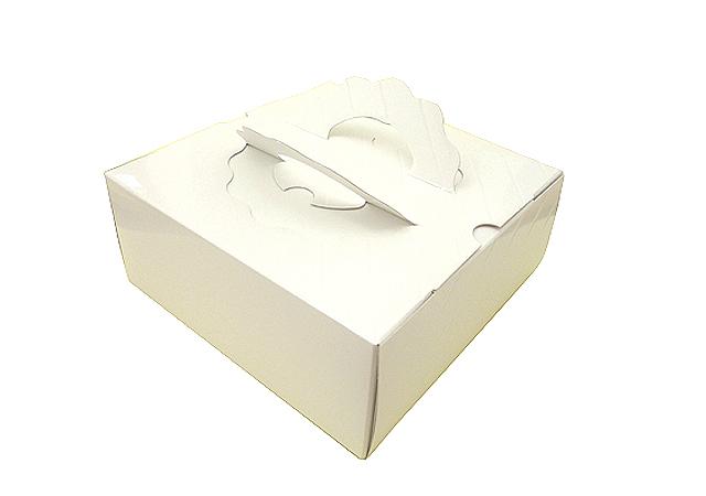 21cmタルト チーズケーキ用 新色 ケーキ箱 ガトーケース白無地 人気上昇中 7寸
