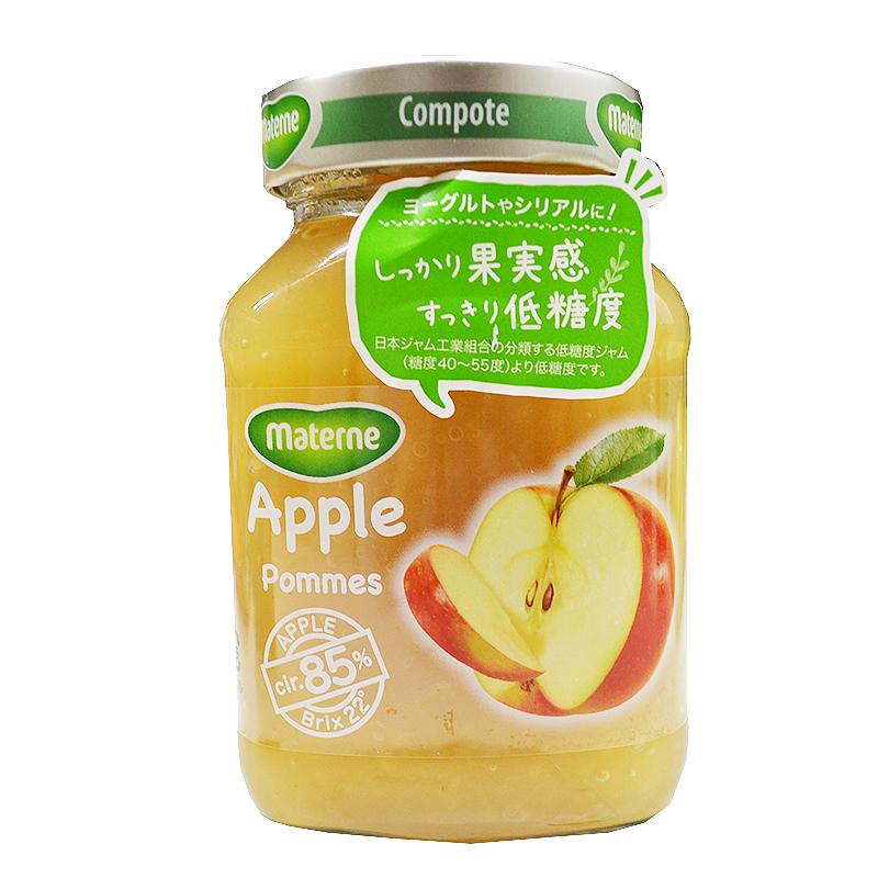 人気上昇中 ■しっかり果実感■すっきり低糖度■ Materne マテルネ 驚きの価格が実現 りんごコンポート 280g りんご 林檎