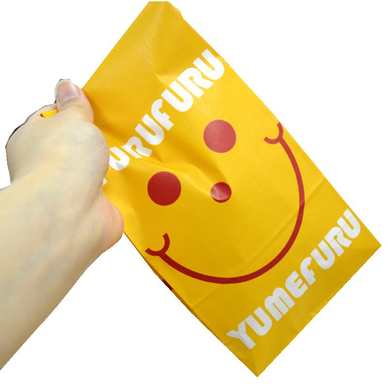 ポップコーンとフレーバーをシャカシャカ振って混ぜてあわせる 夢フル袋NO.3 100枚 日本全国 全店販売中 送料無料
