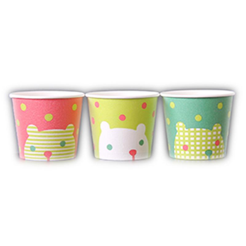 【ケース売】【注文後手配商品】氷カップ シロクマ 50入×20(かき氷)