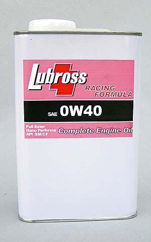 ルブロス【Lubross】エンジンオイル レーシング・フォーミュラ 4L