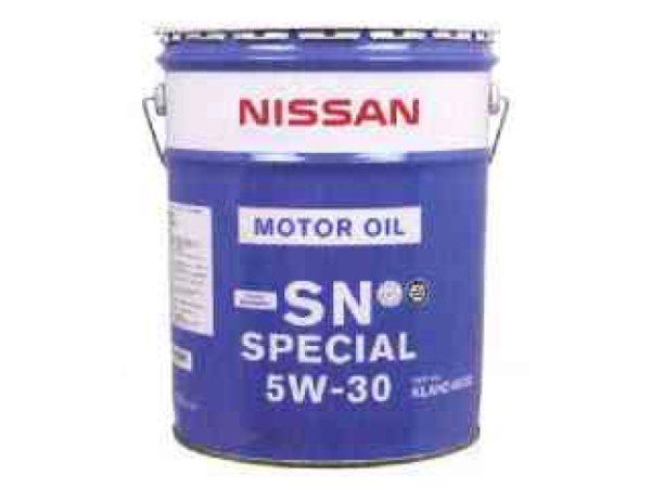 【エムアル特価】エンジンオイル 20リットル缶 日産 純正 ガソリン車専用 SN 5W-30 20リットル KLANC-05302 *オイル・油脂*