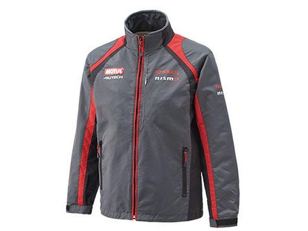日産コレクション ファッション チームカラージャケット グレー Lサイズ KWA0360H03GY