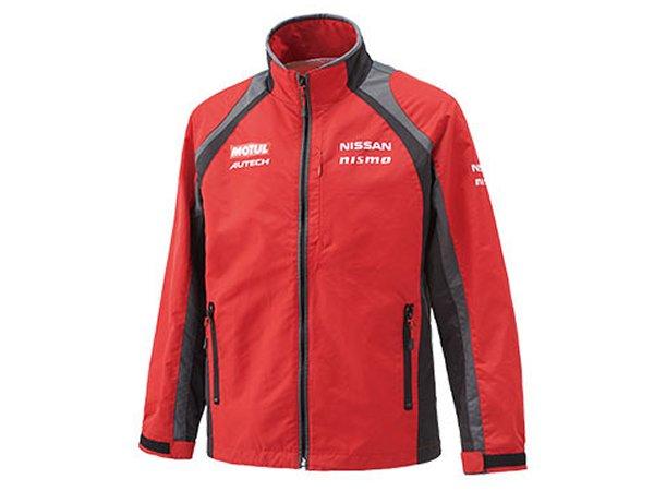 日産コレクション ファッション チームカラージャケット レッド Lサイズ KWA0360H03RD