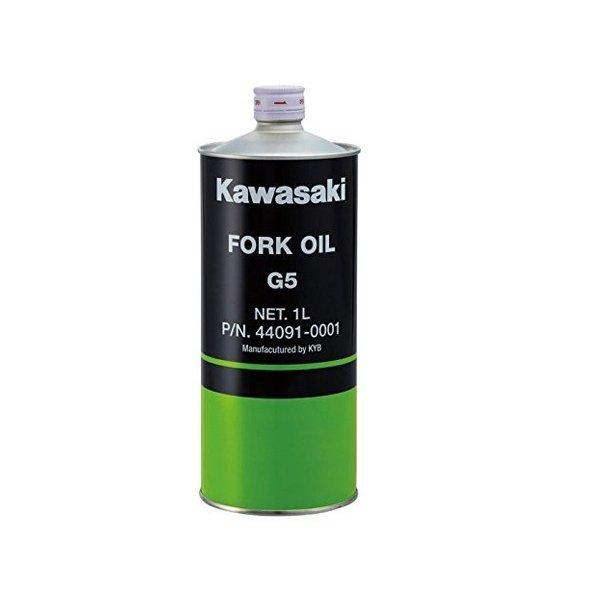 保証 SS期間中P5倍 スーパーセール 当店限定販売 KAWASAKI カワサキ 純正部品 フォークオイル 1L G5 J44091-0001