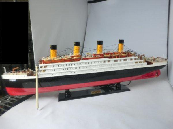 手作り模型 船舶 タイタニック 中 80cm SHI-013 *模型*
