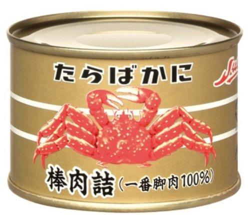ストー たらばがに缶詰 棒肉詰 固形量160g×3缶