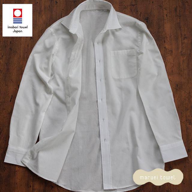 今治タオルのシャツ メンズ パイルシャツ(セミワイド)送料無料 メンズ 父の日 ギフト 男性用 紳士用ブランド シャツ 今治タオル認定パイルシャツ カジュアル フォーマル