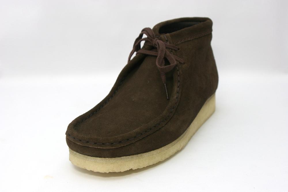Clarks[クラークス] 455E Wallabee Boot ワラビーブーツ/ダークブラウンスエード