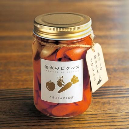 金沢のピクルス・人参とりんごと蜂蜜 (いつものピクルス)