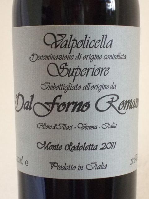 ヴァルポリチェッラ・スペリオーレ・モンテ・ロドレッタ[2011]/ダル・フォルノ・ロマーノ