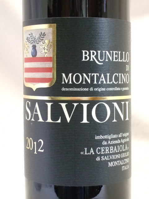 サルヴィオーニ ブルネッロ・ディ・モンタルチーノ[2012]/ラ・チェルバイオーラ