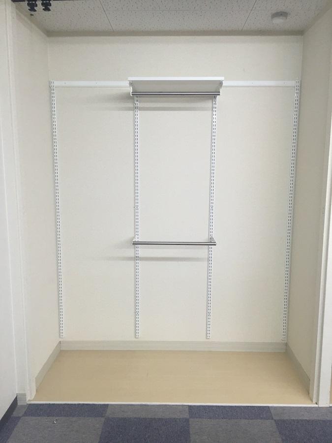収納セットプラン(2)クローゼット用 W600×D400×H1753 ES-raku 収納 DIY 簡単 整理