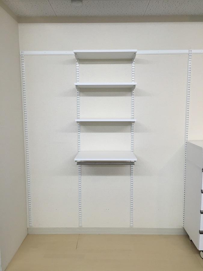 収納セットプラン(3)クローゼット用 W600×D400×H1753 ES-raku 収納 DIY 簡単 整理