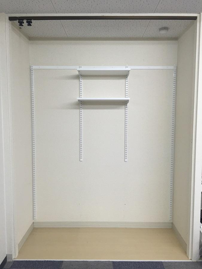 収納セットプランA洗濯機上用 W750×D300×H1202 ES-raku 収納 DIY 簡単 整理