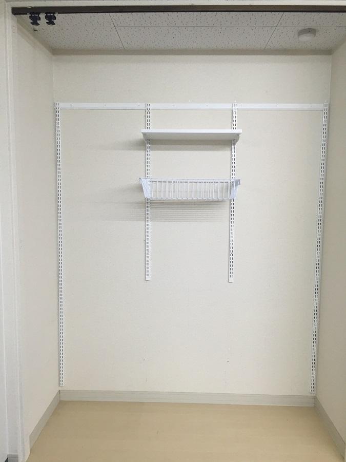 収納セットプランB洗濯機上用 W750×D300×H1202 ES-raku 収納 DIY 簡単 整理