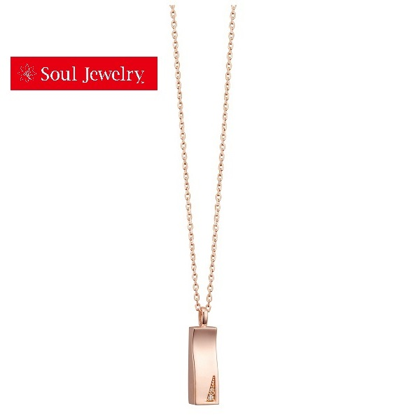 遺骨ペンダント Soul Jewelry ソウルジュエリー プリエ K18ローズゴールド