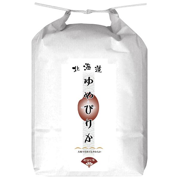 北海道産 ゆめぴりか 6回コース 1袋 5kg (毎月/半年) のし・包装不可