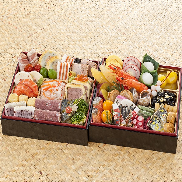 おせち お節 セット 年末 年始 限定 兵庫 奥城崎シーサイドホテル おせち二段重 産地直送商品