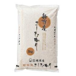 新潟産こしひかり 6回コース 1袋 5kg (毎月/半年)