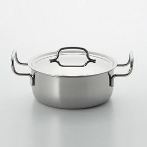 〈ジオ・プロダクト〉両手鍋20cm