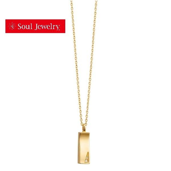 遺骨ペンダント Soul Jewelry ソウルジュエリー プリエ K18イエローゴールド