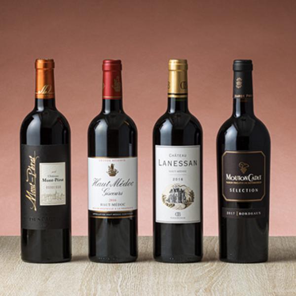 秋に飲みたい本格フランス 格安店 ボルドー赤ワイン4本セット 大幅値下げランキング