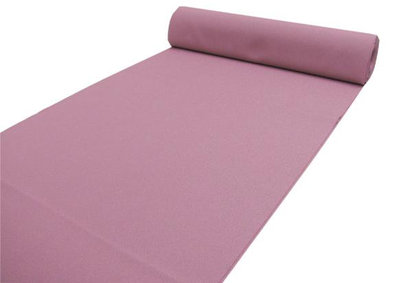 洗える着物 色無地 袷着物 単衣着物 袷 単衣 反物 セミオーダーお仕立て付き 紫がかった落ち着いたピンク No.102 送料無料