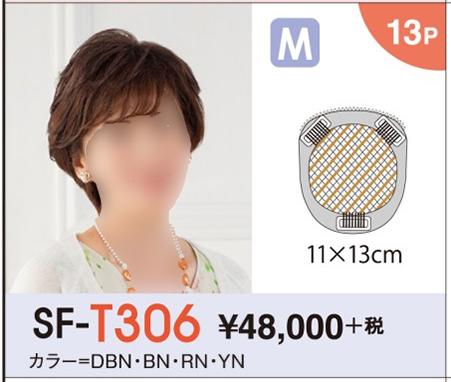 【送料無料】 レオンカ ハイパック(部分ウイッグ) SF-T306